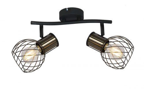 54013-2_regleta-dos-focos-negro-oro-argusto-globo