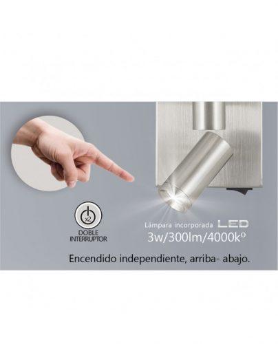 aplique-led-sada-niquel-satinado-1-x-e-27-led-3w-300lm-4000k
