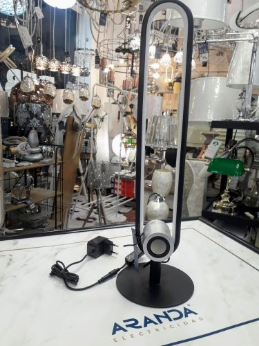 lampara-sobremesa-toppole-con-bluetooth-led-negro-electricidad-aranda-lamparas-almeria-
