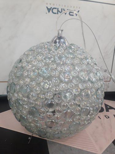 Colgante Cristal y vidriera 972 Ajp Iluminación. E27 diámetro 30 cm 971 ajp