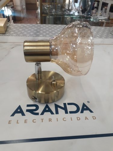 Foco E14 cristal caramelo DONTO 54922-1 Globo Lighting